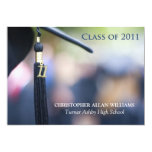 2011 Graduation Tassel Custom Announcement