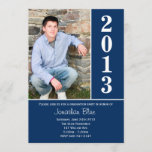 2013 Blue Graduation Announcement