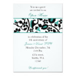 aqua Elegant Corporate party Invitation