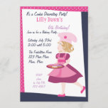 Baking Cutie Invitation