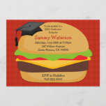 BBQ Graduation Party Invitation Class of 2012