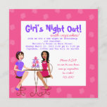 Best Friends and Cupcakes! Invitation