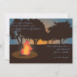 Bonfire Invitation