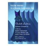 Bridal Luncheon Pretty Bridesmaid Dresses Card