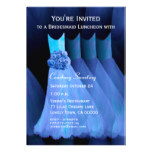 Bridesmaid Luncheon Blue Dresses V11 Card