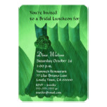 Bridesmaid Luncheon or Brunch Kelly Green V02L Card