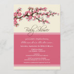 Cherry Blossom Baby Shower Invitation (pink)
