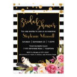 Chic Bohemian Bridal Shower Card