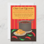 Chili Cook Off Invitation Announcement