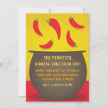 Chili Pot - Cook Off Invitation