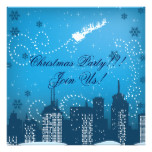 Christmas In The City Custom Products Card