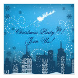 Christmas In The City Custom Products Invitation