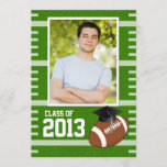 Class of 2013 Football Graduation Invitation