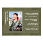 Commissioning Party Photo Invitation (Olive)
