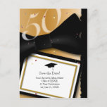 Customizable 50 Year Class Reunion Save the Date Announcement Postcard