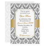 Elegant Gold Corporate party Invitation