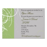 elegant green Corporate party Invitation