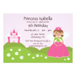 Fairy Princess Birthday Card