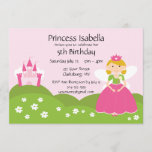 Fairy Princess Birthday Invitation