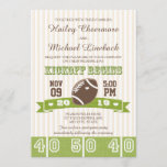 FOOTBALL WEDDING INVITATION