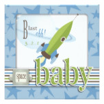 For Baby Boy TY Square Card