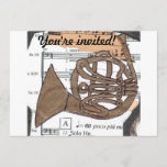 (French) Horn invitation