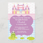 Frog Princess Birthday Party Invitation