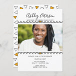 Fun Color Pop Graduation Announcement