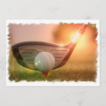 Golf Putter Invitation