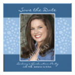 Graduation Party Photo Save the Date Card