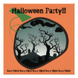 Graveyard Halloween Party Invitation