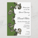 green Elegant Corporate party Invitation