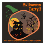 Haunted Place Halloween Party Invitation