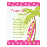 Hibiscus Surfboard Card