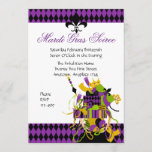Impossible Mardi Gras Stack Invitation