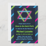 Invitation for Glow-in-the-Dark Bar & Bat Mitzvah