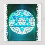 Jewish Star of David Invitation