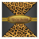 Leopard Party Invitation