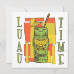 Luau 2 Party Invitations