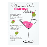 Martini Shindig! Card