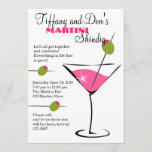 Martini Shindig! Invitation