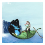 Mermaid Gondola Card