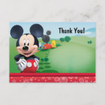 Mickey Thank You Cards
