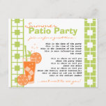 Orange Drink Invitation