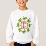 Palm Circle Luau Sweatshirt