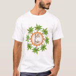 Palm Circle Luau T-Shirt