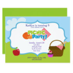 Park Picnic Party Card