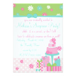 Pretty Daisy Cake Card