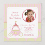 Pretty Princess Photo Birthday Invitation