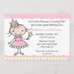 Princess Dance Birthday Invitation
